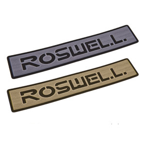 Roswell Logo Step Pad - Grey