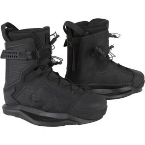 2021 Ronix Kinetik Project EXP Para-Skin Black Boot w/Walk Liner