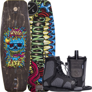 Hyperlite Kids Union #2022 w/Remix Cable Wakeboard Package