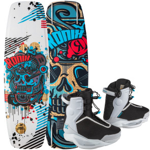 Ronix Kids Atmos #2022 w/Vision Pro Cable Wakeboard Package