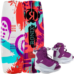Ronix Kids August #2022 2/August Boat Wakeboard Package
