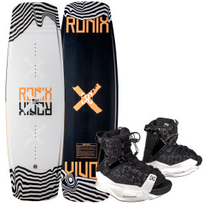 Ronix Ladies Julia Rick #2022 w/Halo Cable Wakeboard Package