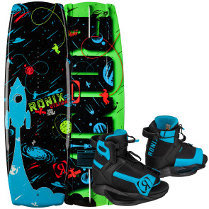 Ronix Kids Vision #2022 W/Vision Boat Wakeboard Package