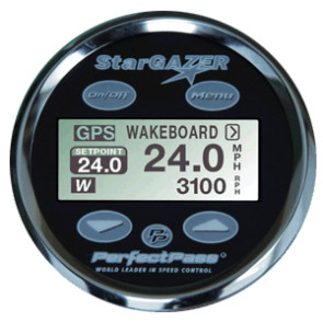 Perfect Pass 3.5 Star Gazer Display  - Black