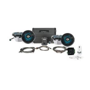 "Roswell Marine Audio R1 6.5""  In-Boat Speaker & RGB Controller Package - Black"